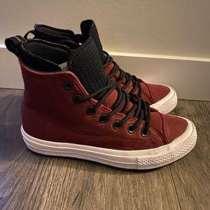 Burgundy Converse Shoes
